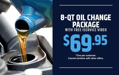 8-QT Oil Change Package