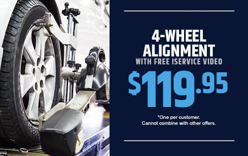 4-Wheel Alignment With Free IService Video