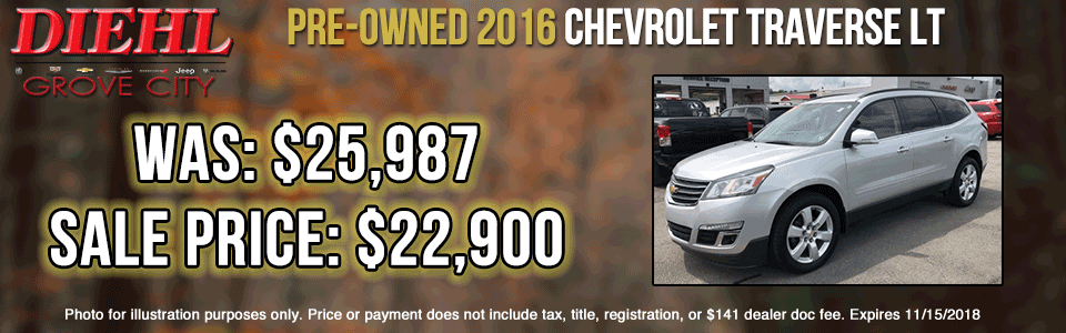 Diehl of Butler pre-owned vehicles sales service parts collision used new  Pre-Owned 2016 Jeep Compass Latitude 4WD