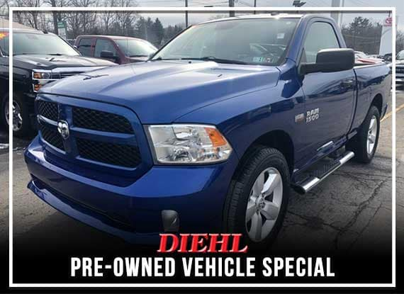 Pre-Owned 2015 Ram 1500 Express 4WD