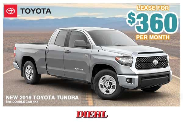 New 2019 Toyota Tundra SR5 4WD 4D Double Cab