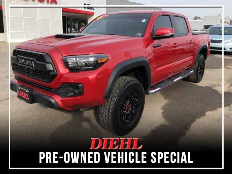 Pre-Owned 2017 Toyota Tacoma TRD Pro 4WD 4D Double Cab