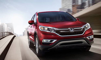 2016 Honda CR-V Front Page