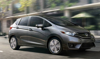 2016 Honda Fit Front Page