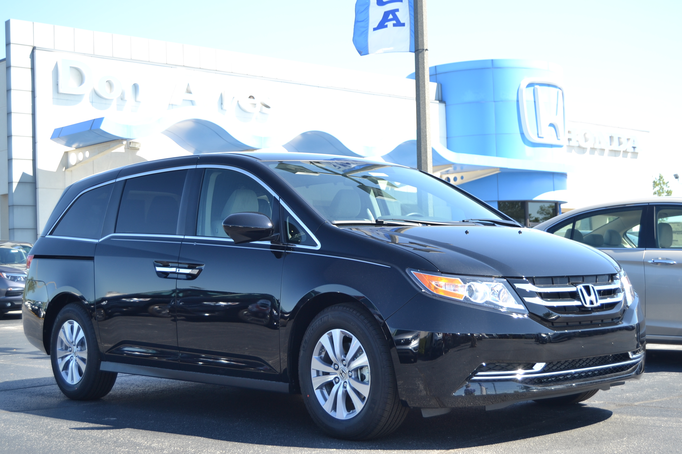 A look at the 2016 Honda Odyssey SE