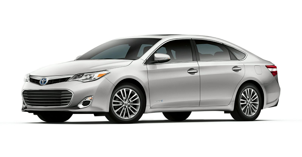 2014 Toyota Avalon Hybrid Model on White
