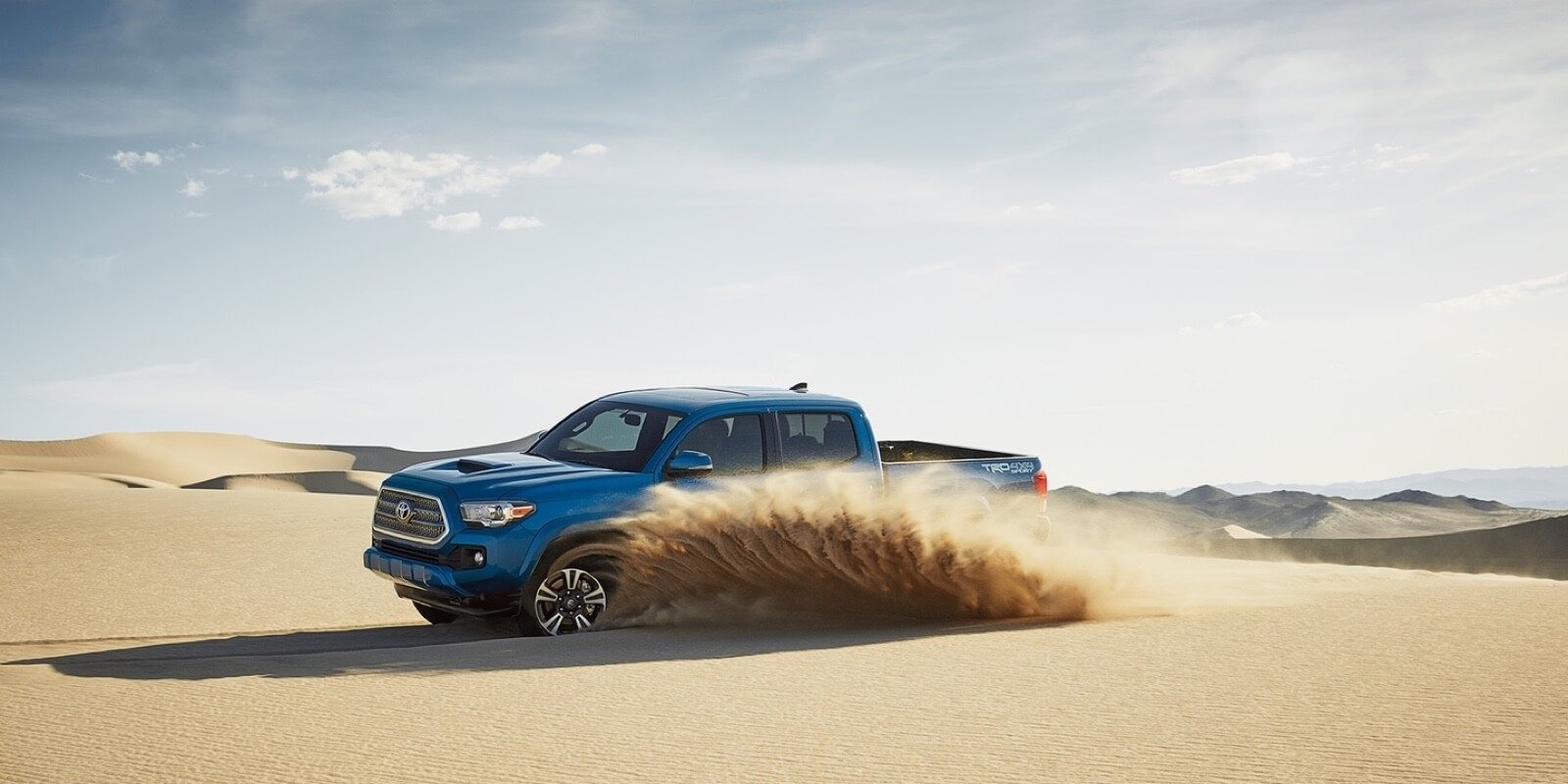 2017 Toyota Tacoma blue exterior model