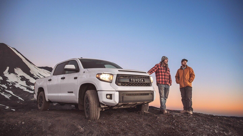 2017 Toyota Tundra white exterior