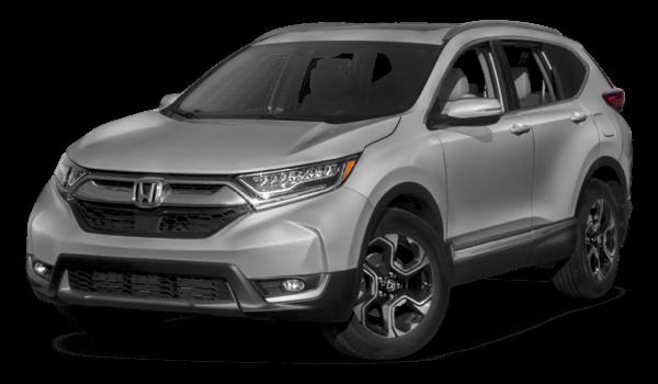 2017 Honda CR-V white background