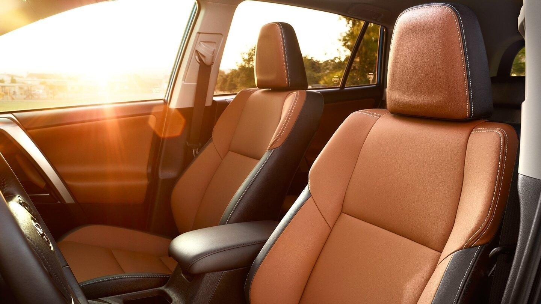 2017 Toyota RAV4 Interior Space