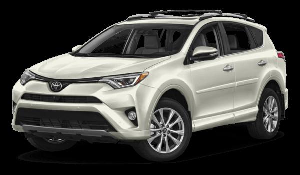 2017 Toyota RAV4 white background