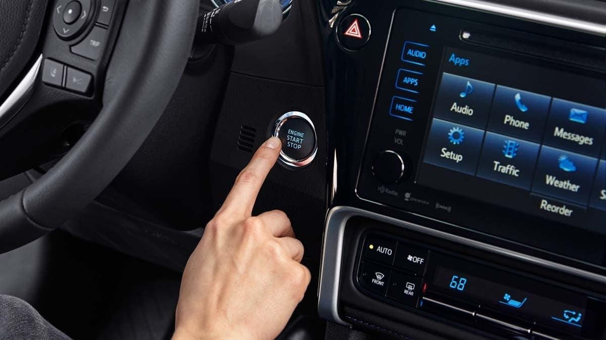 Toyota Corolla Engine Start Button