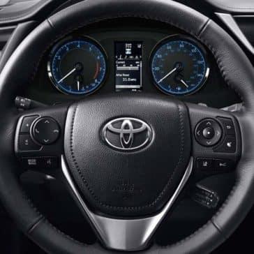 Toyota Corolla Premium Package Steering Wheel