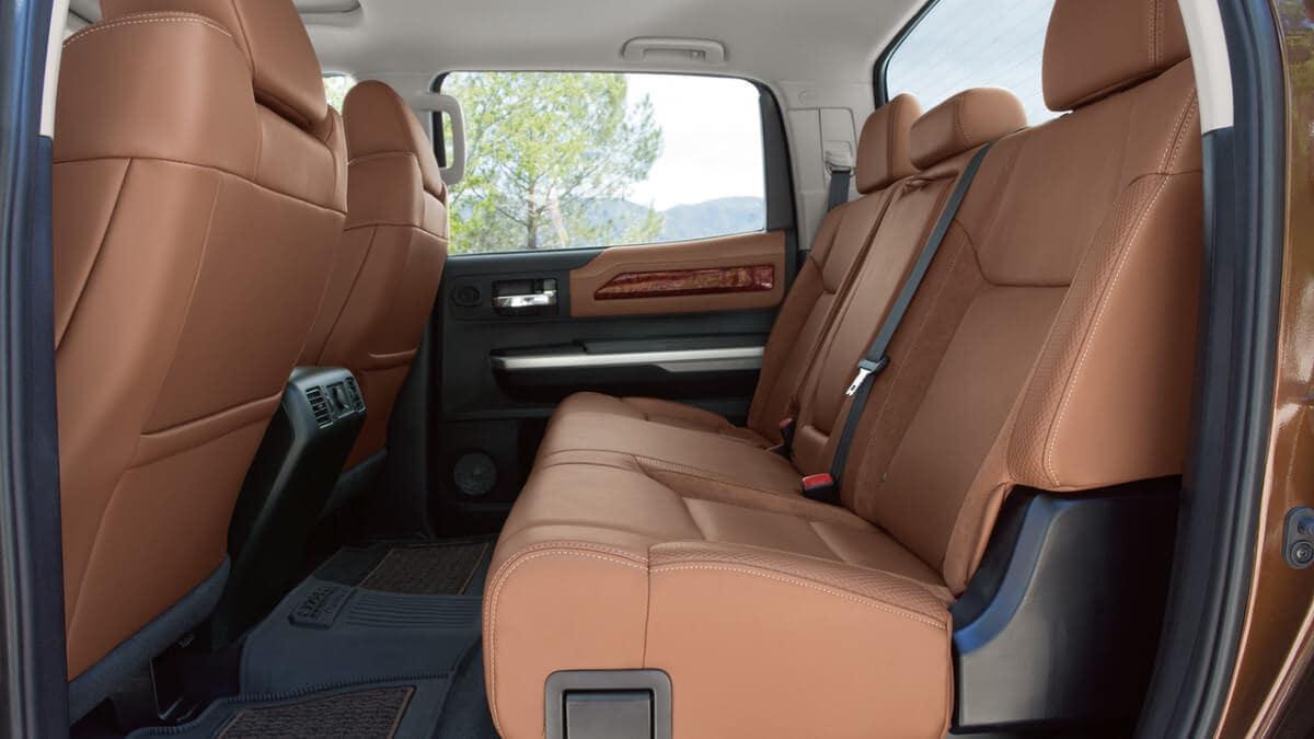 2018 Toyota Tundra 1974 Edition CrewMax Interior