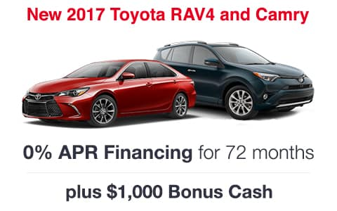 2017 Toyota RAV4 & Camry