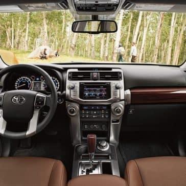 2018 Toyota 4Runner inside