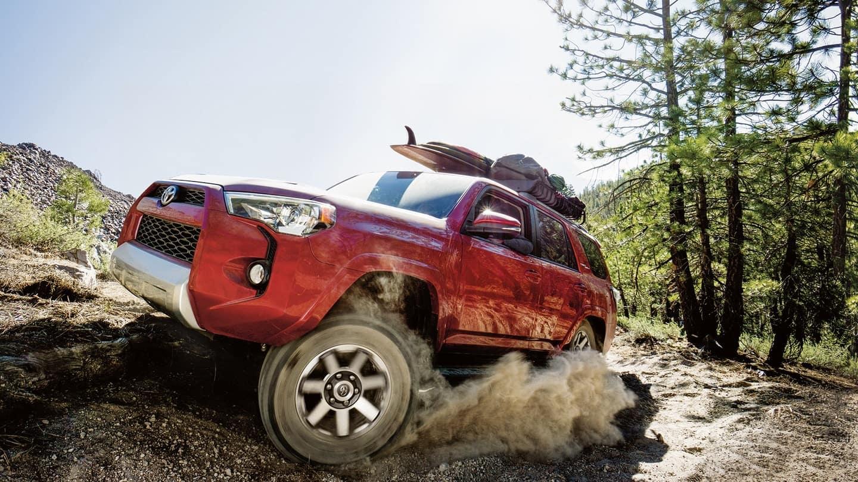 2018 Toyota 4Runner side