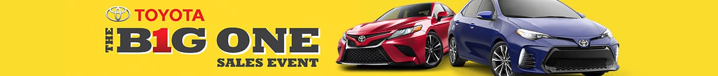 earl stewart toyota big one sales event