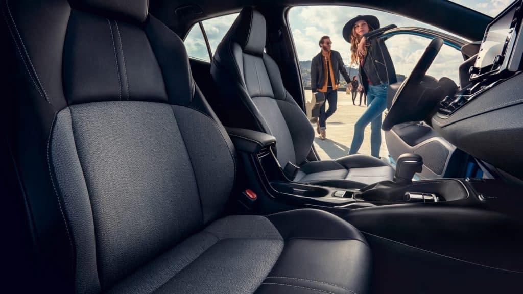 2019 Toyota Corolla Hatchback leather seats