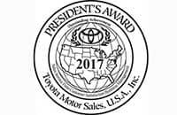 Toyota President's Award