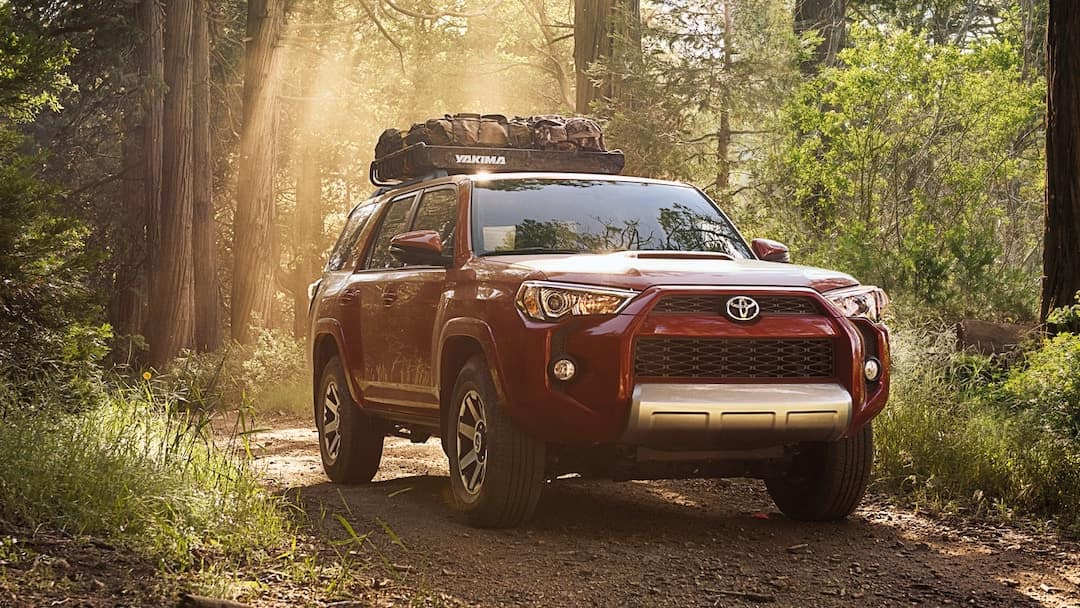 2019 Toyota 4Runner off roading
