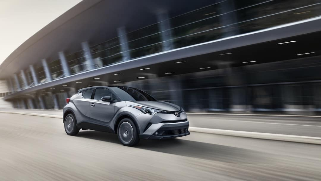 2019 Toyota C-HR on city streets