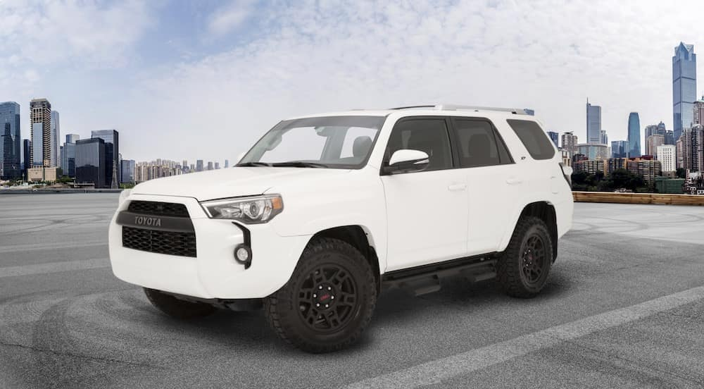Toyota 4Runner XP Predator in white