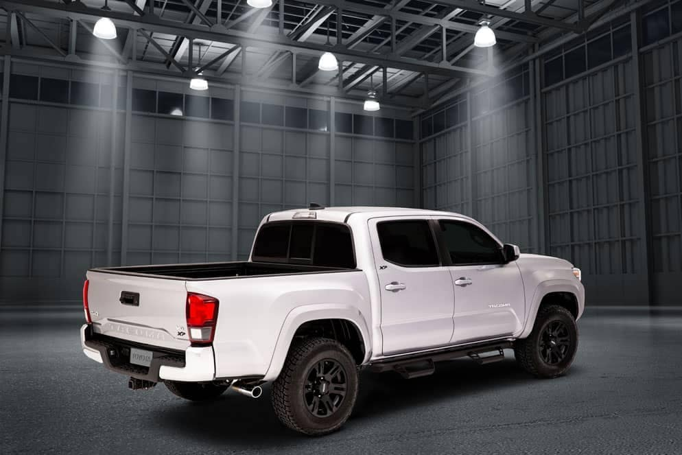 Toyota Tacoma XP Black Maverick rear view