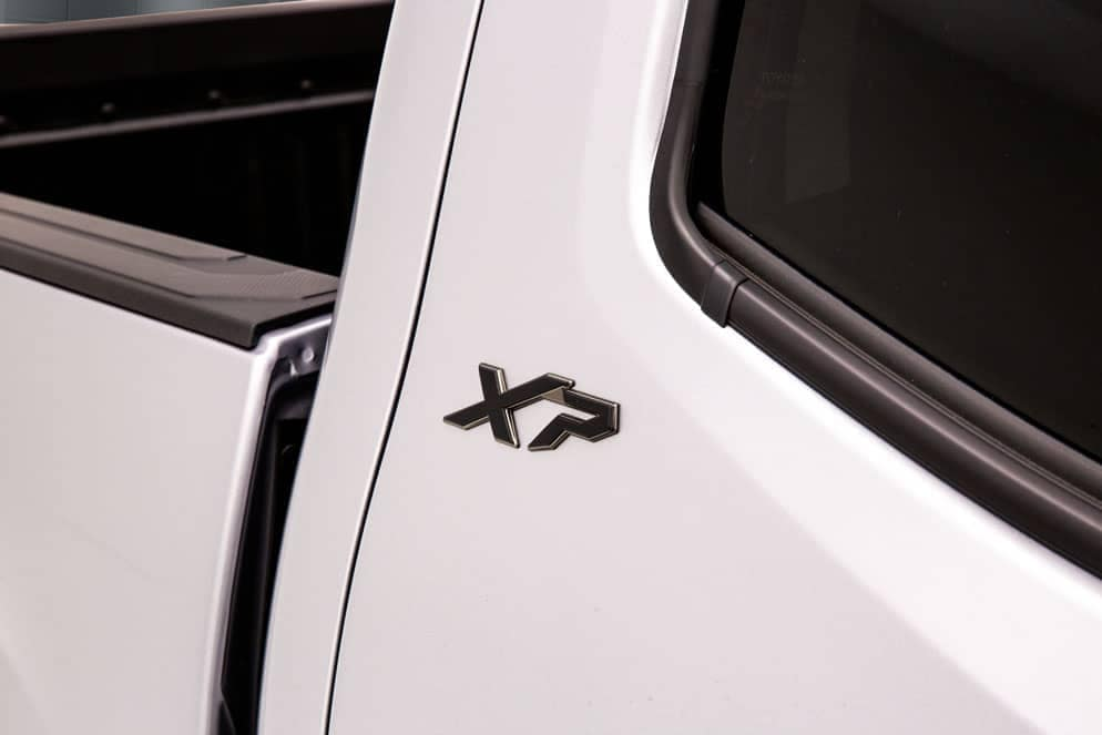 Toyota Tacoma XP Black Maverick badge