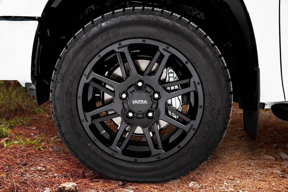Toyota Tundra XP Gunner tire and rim