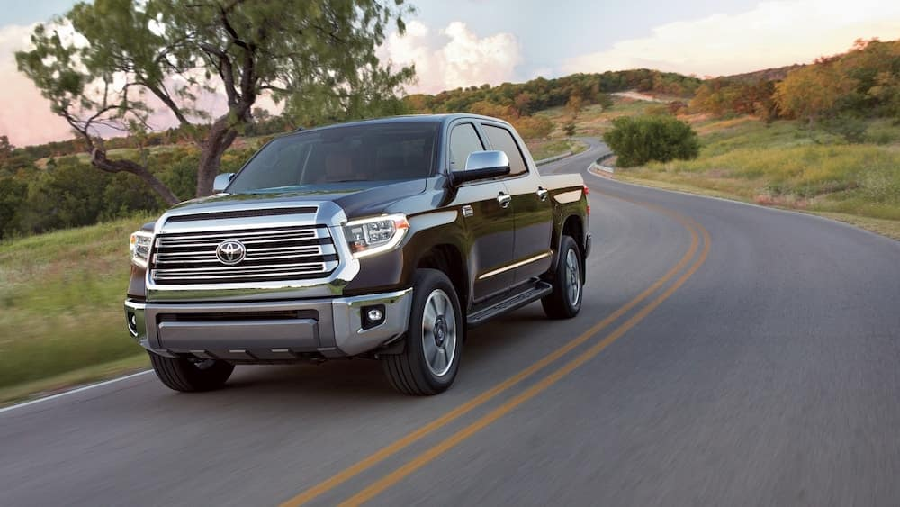 2019 Toyota Tundra on country roads