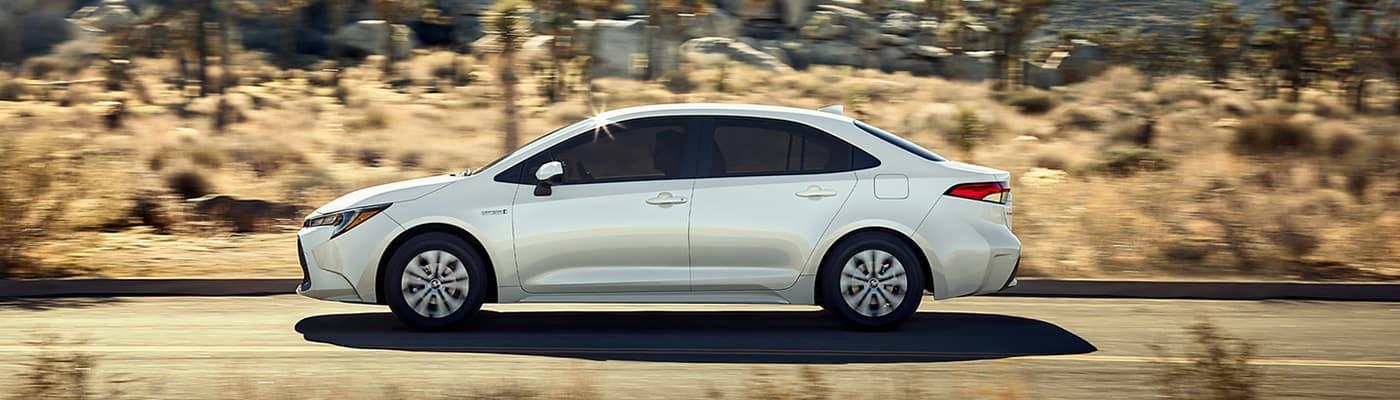 2020 Corolla white