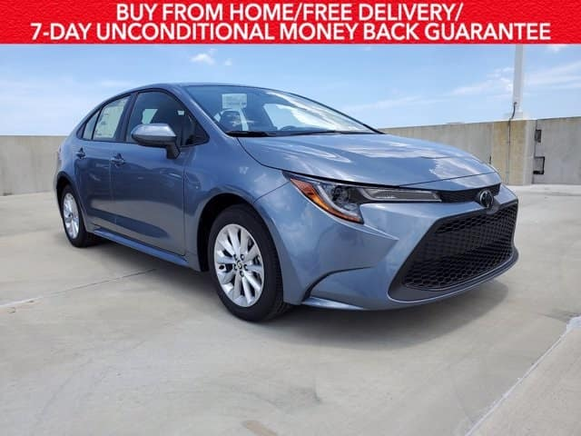 Drive the new 2021 Corolla