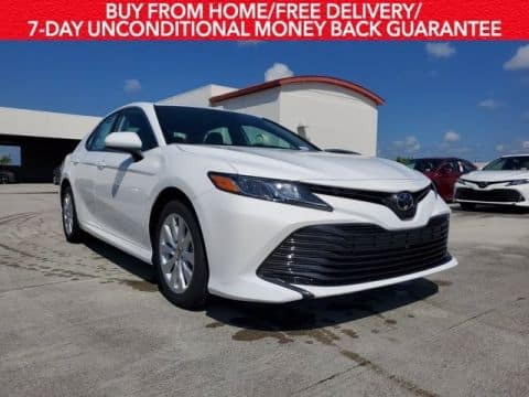 Lease the new 2020 Camry LE