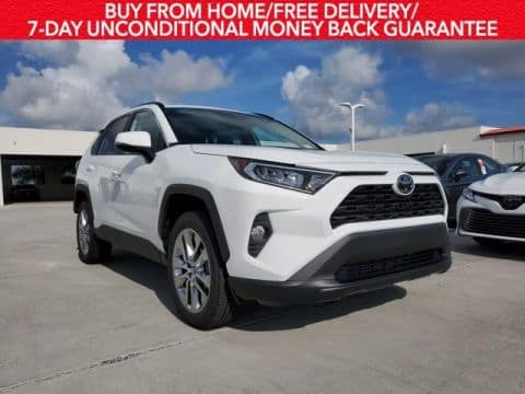 Drive the new 2020 RAV4