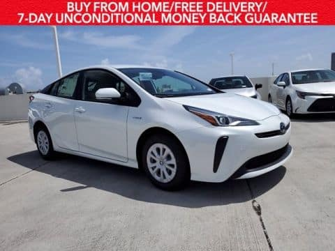 Drive the new 2020 Prius