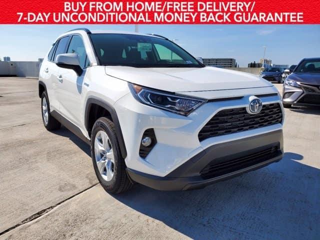 Lease the new 2020 RAV4 Hybrid XLE