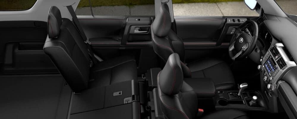 2020 Toyota 4Runner interior cross section