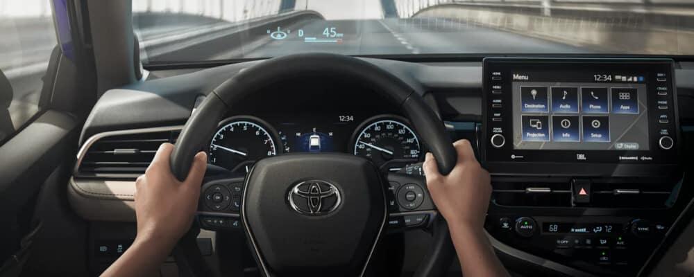 2021 Toyota Camry interior dashboard