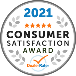 2021 Consumer Satisfaction Award