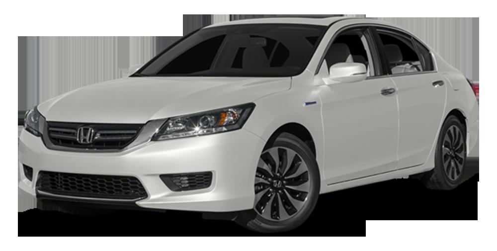 2014 Honda Accord Plug-in Hybrid on white bg