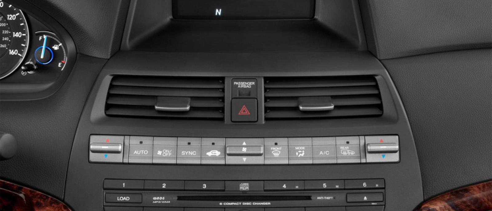 2012 Honda Accord Console