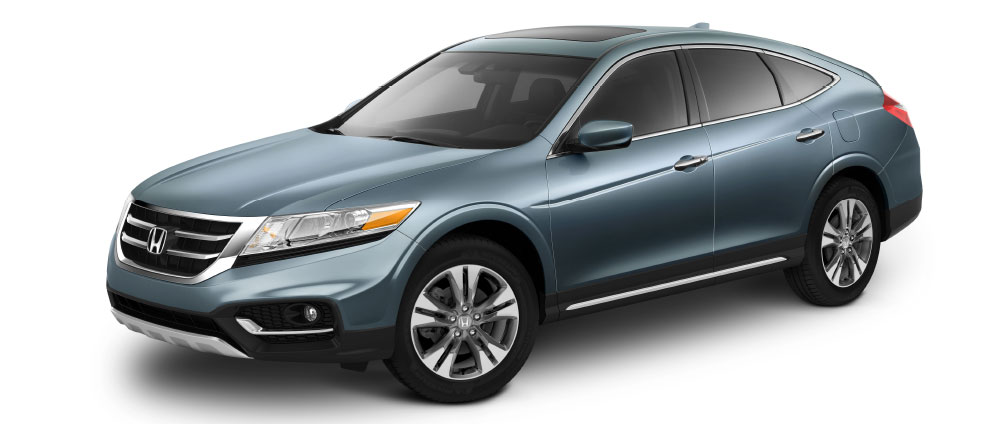 2014 Honda Crosstour on white