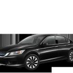 Black Honda Accord Hybrid