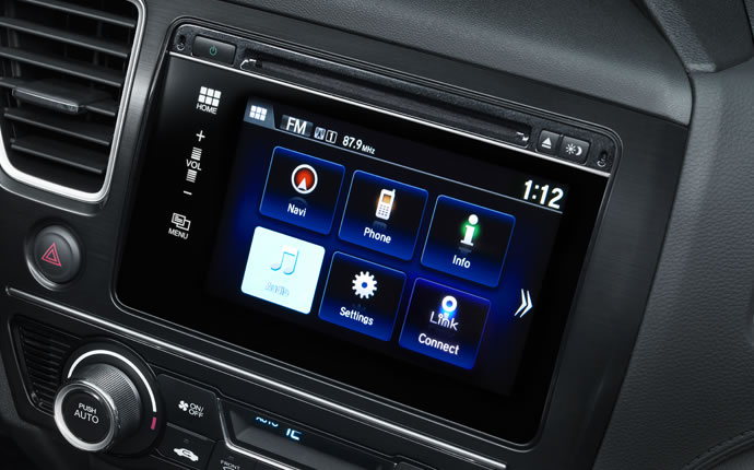 2015 Honda Civic Sedan Audio Control