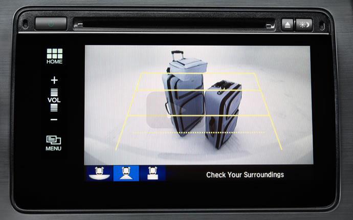 2015 Honda Civic Sedan Rear Camera