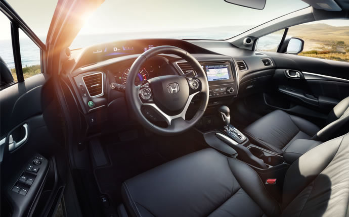2015 Honda Civic Sedan Interior