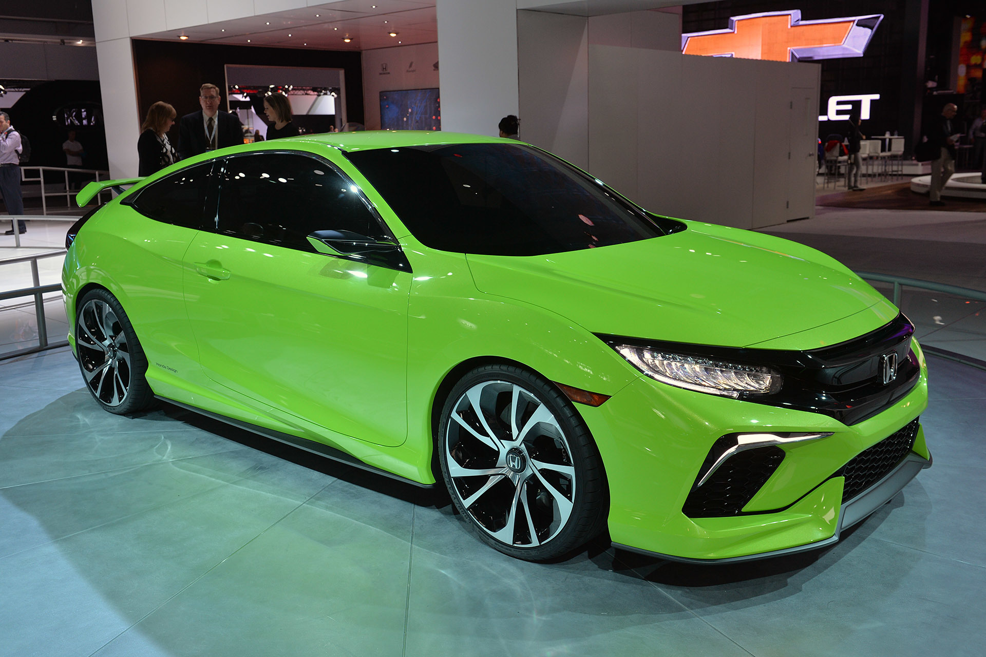 The 10th Generation Honda Civic Revealed at the New York Auto Show