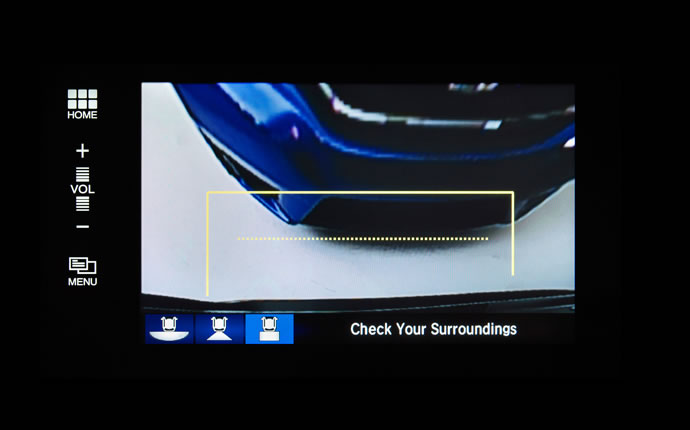 2015 Honda Fit Safety Rear Camera