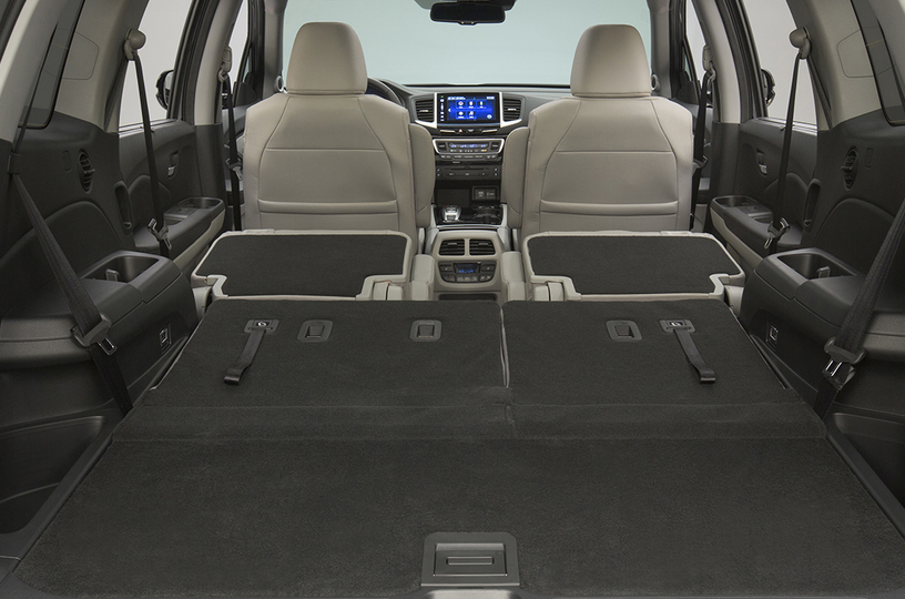 2016 Honda Pilot Cargo Space Vs Competitors Best Full